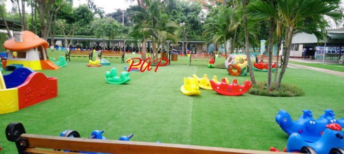Sự cần thiết của cỏ nhân tạo trong khu vui chơi trường mầm non